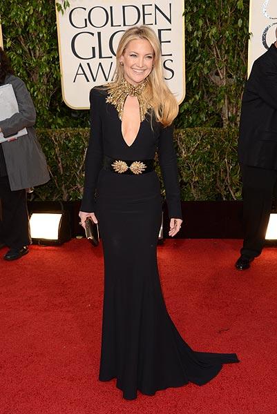 Kate Hudson, elegida la actriz más elegante de los Globo de Oro 2013