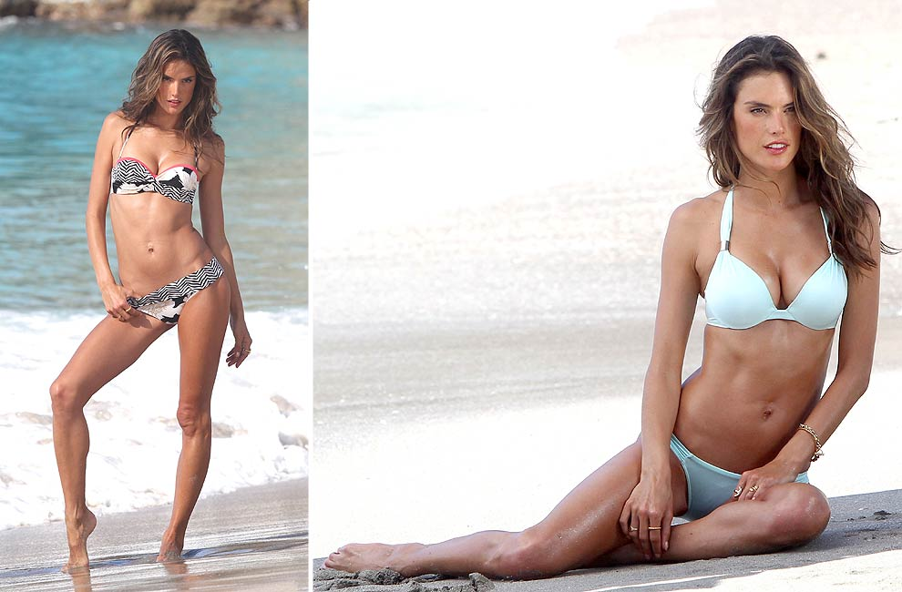 Las mejores 'top models' posan en bikini por las playas de San Bartolomé