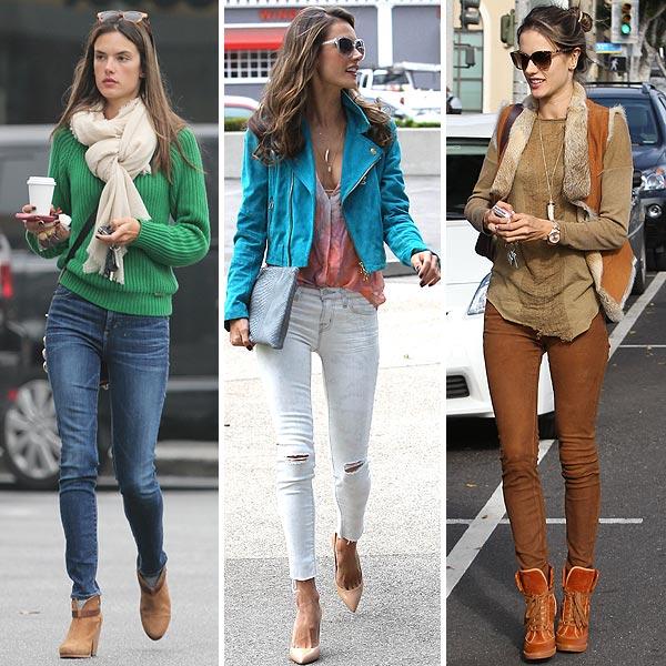 Alessandra Ambrosio te enseña cómo conseguir su admirable estilo