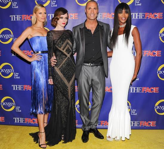 Después de 'La Voz', Karolina Kurkova, Naomi Campbell y Coco Rocha nos presentan 'The Face'