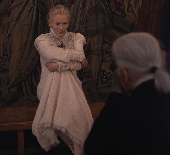 Tilda Swinton, el nuevo rostro de Chanel