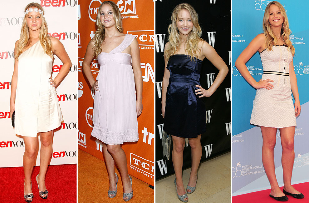 10d6ca669 Red Carpet': La evolución del estilo de… Jennifer Lawrence