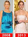 'Red Carpet': La evolución del estilo de… Jennifer Lawrence