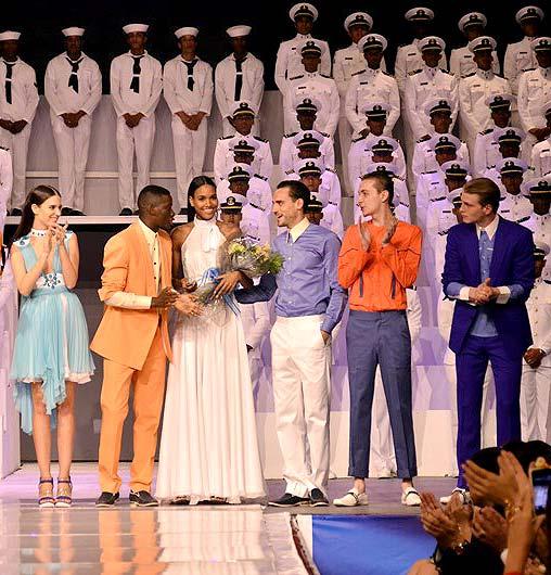 Clara Alonso, Arlenis Sosa, David Agbodji, Yuri Pleskun… Reunión benéfica de 'top models' internacionales en Santo Domingo