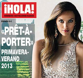 Helen Lindes, espectacular, en la portada del especial ¡HOLA! moda '