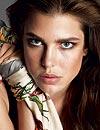 Carlota Casiraghi, su imagen más primaveral como modelo para la casa Gucci