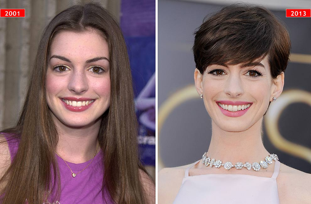 'Red Carpet': La evolución del estilo de… Anne Hathaway