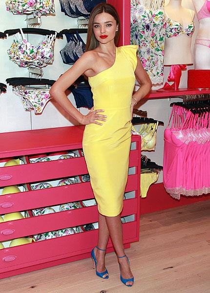 Miranda Kerr confirma que sí se separa de la firma Victoria's Secret