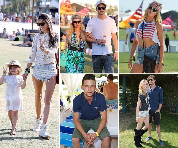 'Celebrity style': ¿Cómo han vestido los famosos en el Festival de Coachella 2013?