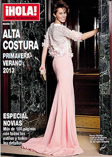 Ya está a la venta el número especial de ¡HOLA! Alta Costura primavera-verano 2013