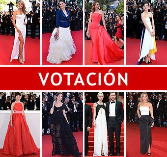 ¿Cuál de estas estrellas ha sido la que mejor ha vestido en el Festival de Cine de Cannes 2013?