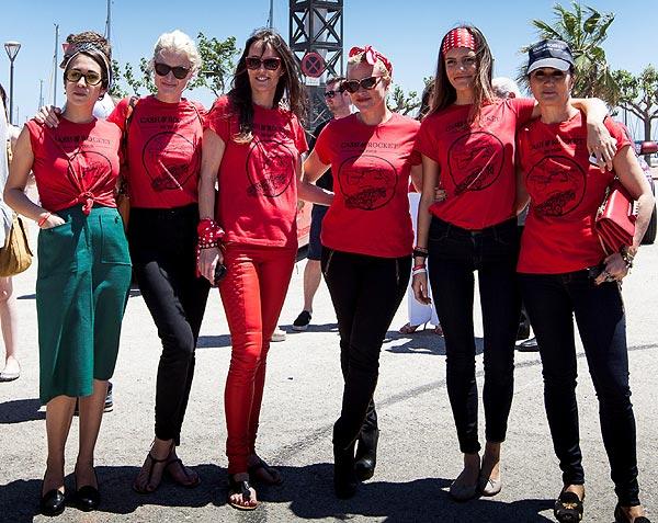 Diseñadoras, modelos, actrices, empresarias... Mujeres en ruta por una causa solidaria