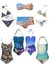 Baño 2013: Bañadores y bikinis que se convierten en lienzos artísticos