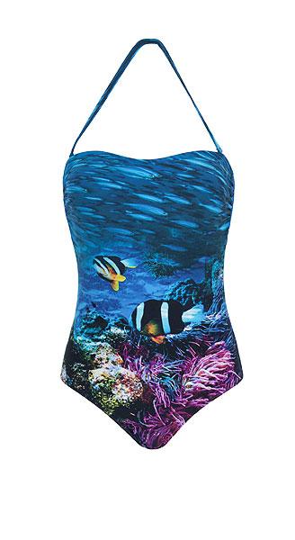 d0bf39048 Baño 2013  Bañadores y bikinis que se convierten en lienzos ...