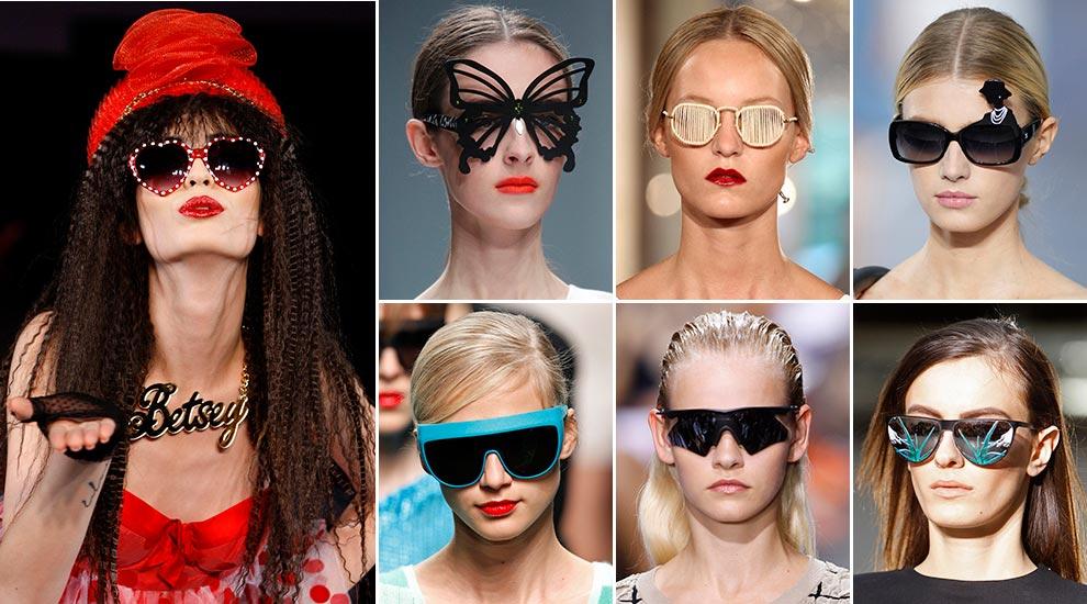Gafas de sol pasarela primavera-verano 2013