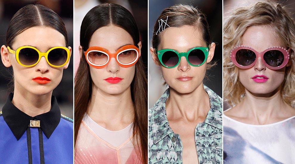 efa912b4ab COLOR: Para añadir una nota divertida a tus 'looks', nada mejor que unas  gafas de sol en vibrantes e intensos colores como las vistas en los  desfiles de, ...