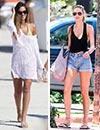 Modelos, cantantes, 'it girls'... Te desvelamos sus trucos para vestir en la playa