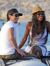 Naomi Campbell y Adrien Brody, juntos en Formentera