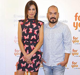 Nieves Álvarez y Juan Duyos, solidarios contra el cáncer de mama