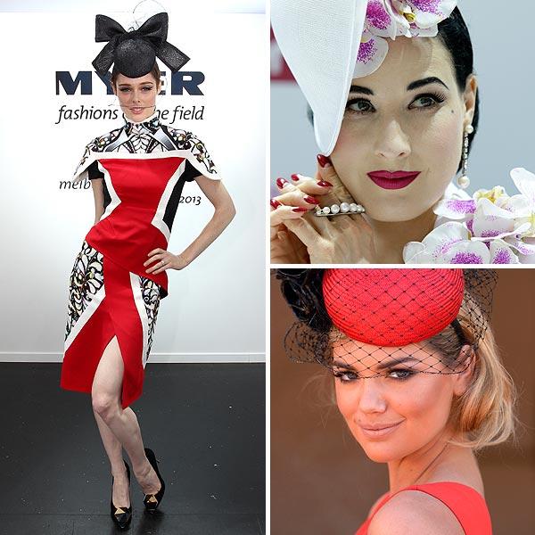 Coco Rocha, Kate Upton y Dita von Teese: estilo en el hipódromo
