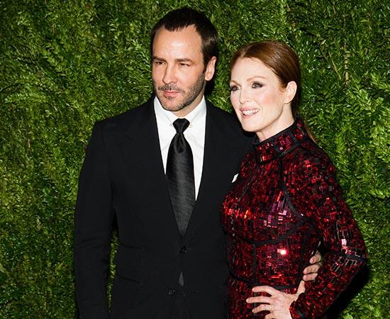 El diseñador Tom Ford y Julianne Moore entregan los 'Oscar de la moda' a los jóvenes talentos