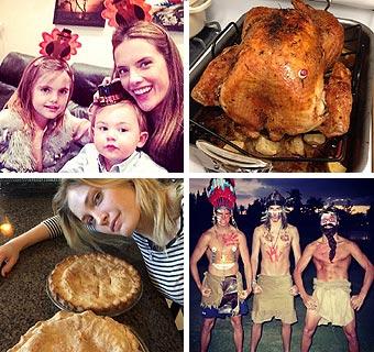 Modelos y Acción de Gracias: ¿Qué recetas elaboran? ¿Con quién lo celebran?