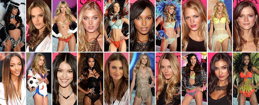 Foto a foto, todas las modelos que forman el 'casting' del Victoria's Secret 'Fashion Show' 2013