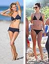 Alessandra Ambrosio y Jessica Hart lucen 'tipazo' en bikini por Miami