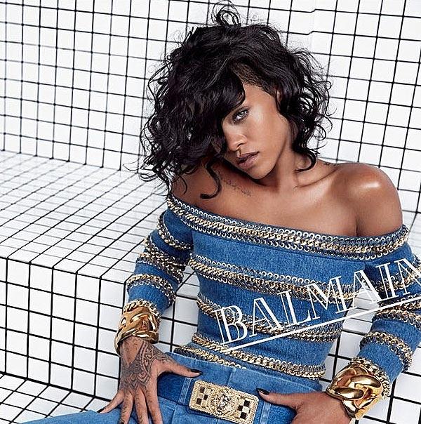 Rihanna, modelo para la primavera-verano de 2014