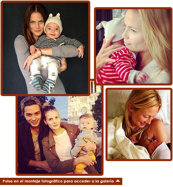 Mamás modelo: ¿Qué 'tops' han tenido un bebé en 2013? ¿Quiénes lo tendrán en 2014?