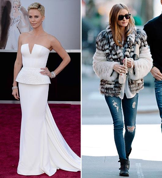 Los internautas de hola.com eligen a la mujer 'más elegante de la alfombra roja' y a la 'reina del street style' de 2013