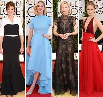 Foto a foto, los mejores 'looks' de la alfombra roja de los Globo de Oro 2014