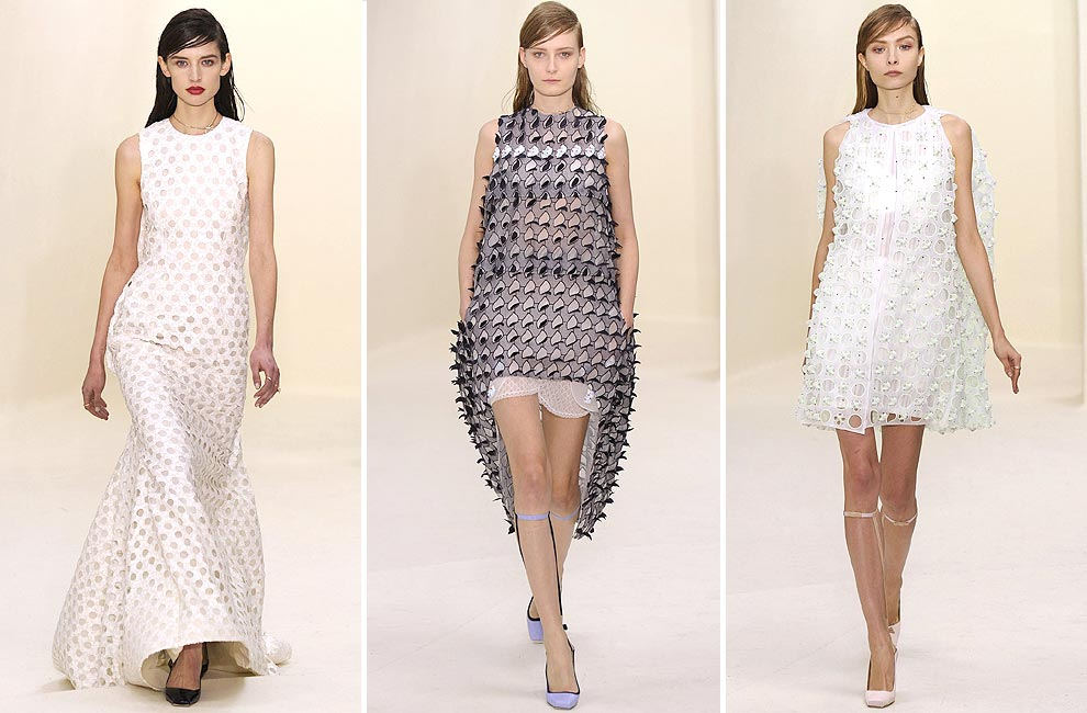 Raf Simons para Dior y su nueva visión de la feminidad llegan a la Alta Costura de París