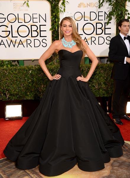 Sofia Vergara, la invitada más elegante de los Globo de Oro 2014