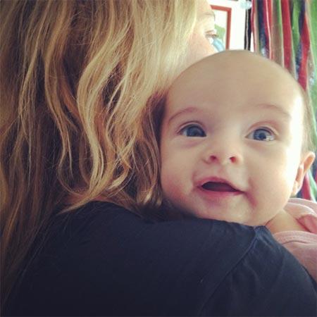 Primeras imágenes de Naia, hija de Gemma Ward