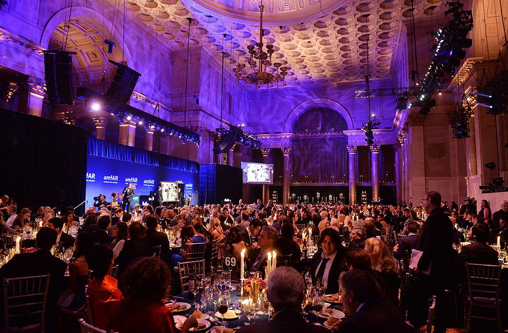 Solidaridad y premios, en la tradicional gala benéfica previa a la 'Fashion Week' de Nueva York
