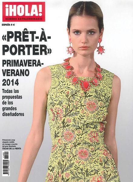 Ya está a la venta el especial ¡HOLA! con la moda 'prêt-à-porter' para la primavera-verano 2014