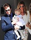 Gisele Bündchen y Tom Brady bautizan a su hija, Vivian
