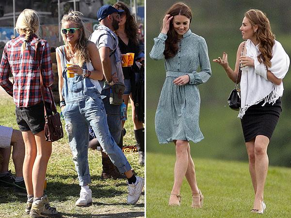 Estilo real: ¿Catherine Middleton o Cressida Bonas?
