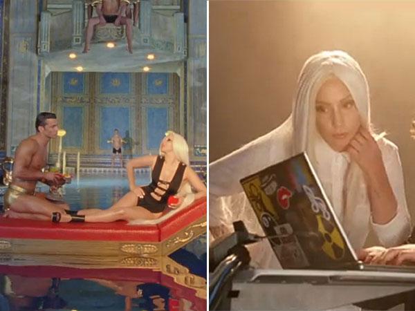 Lady Gaga apuesta por la moda española en su último videoclip