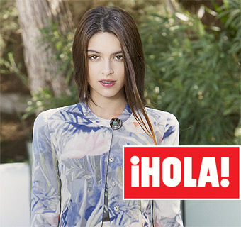 En ¡HOLA!, Lucía Rivera Romero, hija de Blanca Romero y Cayetano Rivera, debuta como modelo