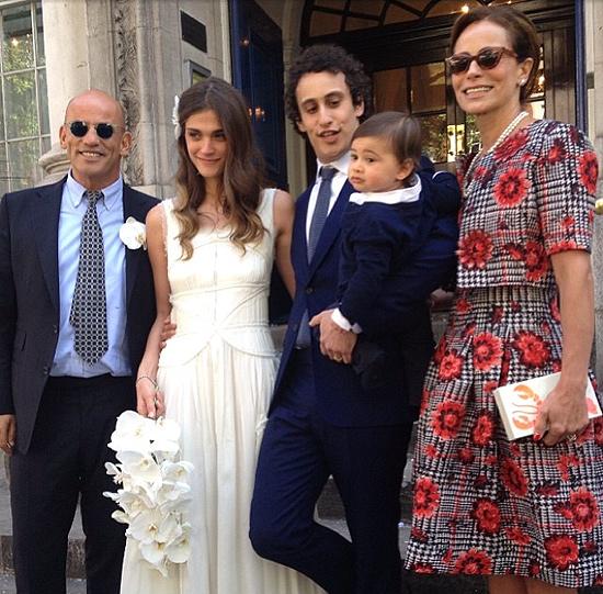 Vestido boda carlota casiraghi