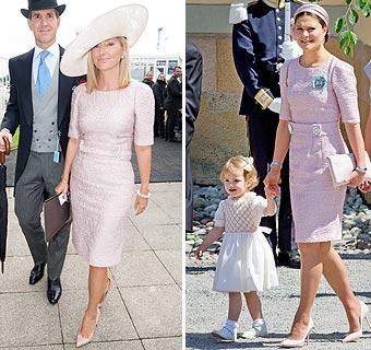 Mismo vestido, diferente estilo: ¡Coincidencias entre la realeza en nuestra semana de 'moda real'!