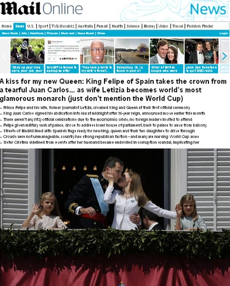 letizia prensa internacional