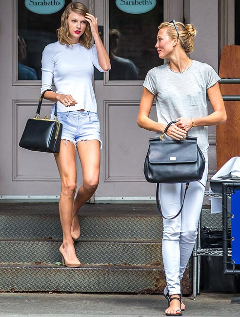 Karlie Kloss y Taylor Swift, dos amigas muy coordinadas 98b7d75c56