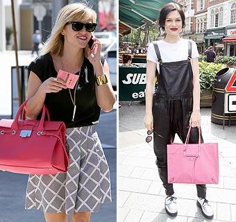 Bolsos de moda: Apuesta por el rosa para tu 'street style'