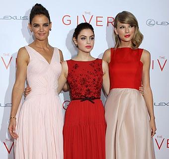 Las actrices de 'The Giver' pisan fuerte en la alfombra roja