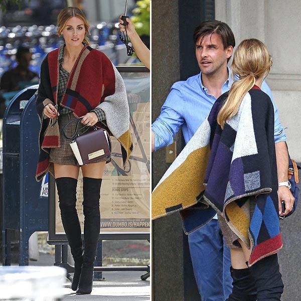 Rosie Huntington-Whiteley y Olivia Palermo nos descubren el abrigo de la próxima temporada