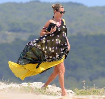 Kate Moss, Alessandra Ambrosio, Gisele Bündchen, Miranda Kerr… vacaciones 'top', a pie de playa