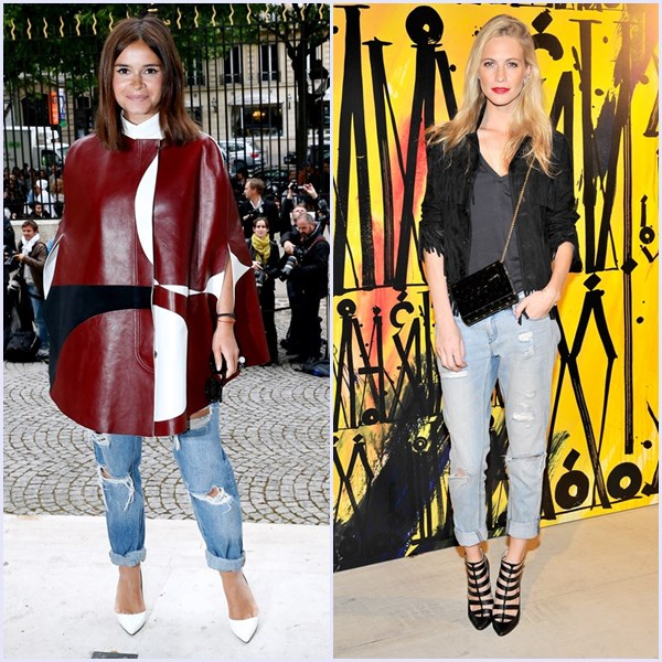 'Ripped jeans'. Un pantalón, siete looks